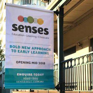 Senses Banner